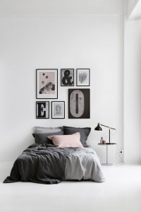 Pernille Folcarelli Væg styling soveværelse