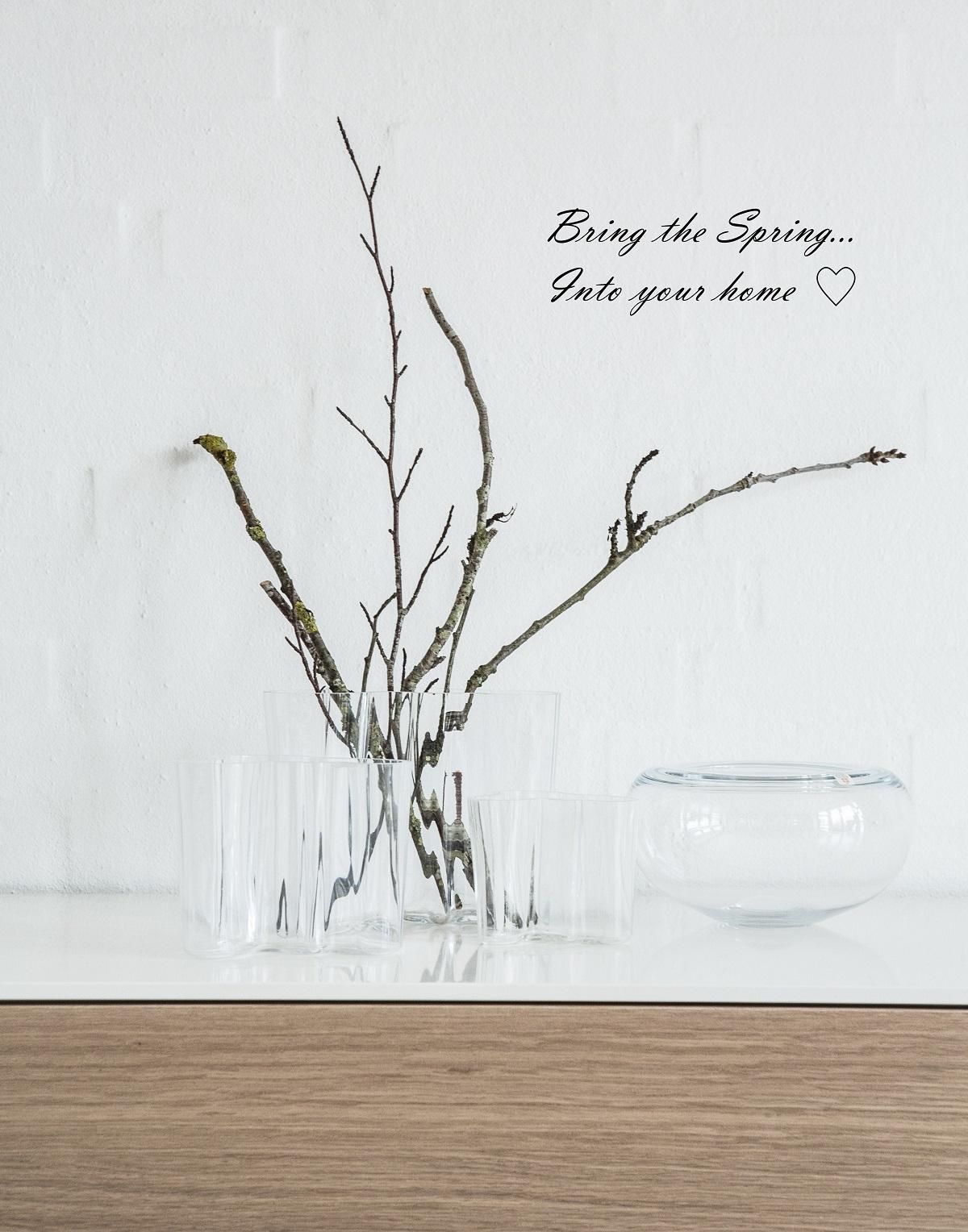 Grene i vase