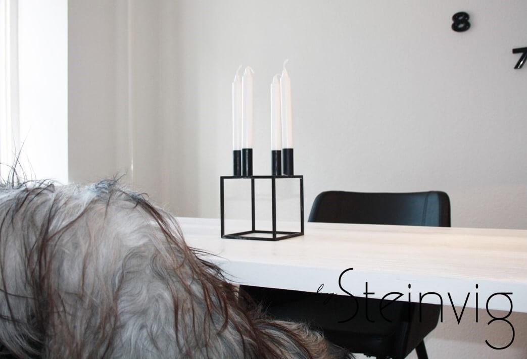 Hjemmelavet spisebord