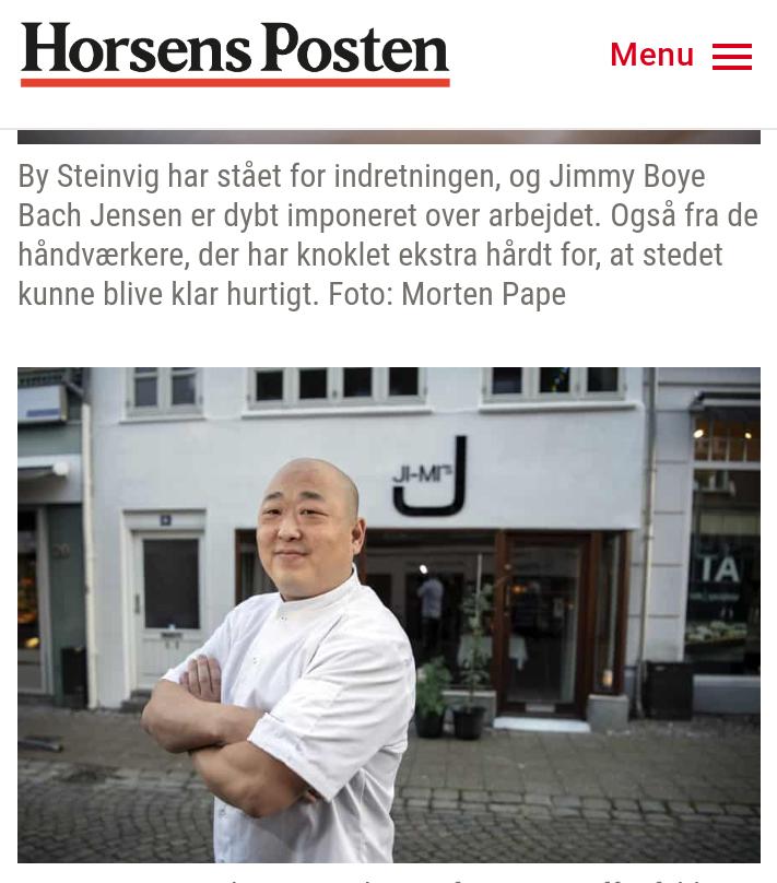 Omtale af Ji-Mi`s Gourmet Restaurant