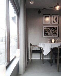 Gastronomisk restaurant indretning By Steinvig
